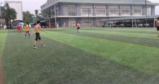 Sân bóng cỏ nhân tạo Phòng không - Không quân (Nguồn: Internet)
