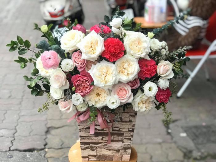 Top 8 Shop hoa tươi đẹp nhất quận Đống Đa, Hà Nội