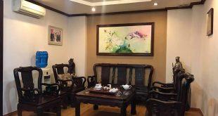 Bán biệt thự Nguyễn Tuân 10om2 4 tầng mặt tiền 8m giá 24.5 tỷ